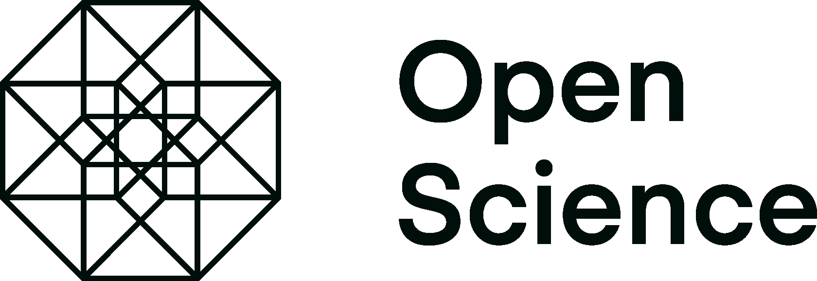 Open science logo.